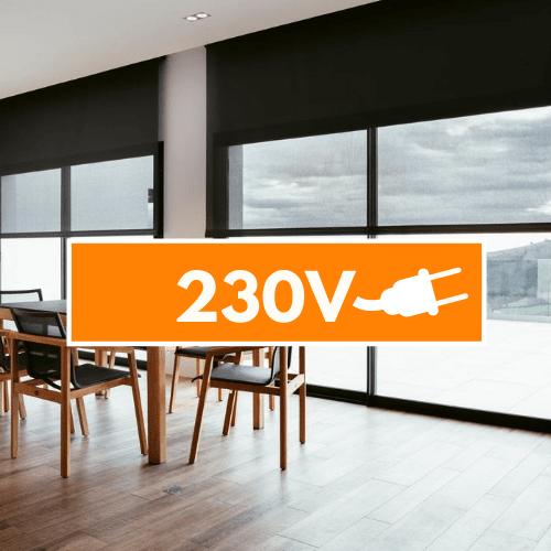 230v moottori Rullaverhot