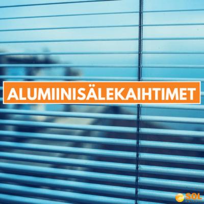 Alumiinisälekaihtimet