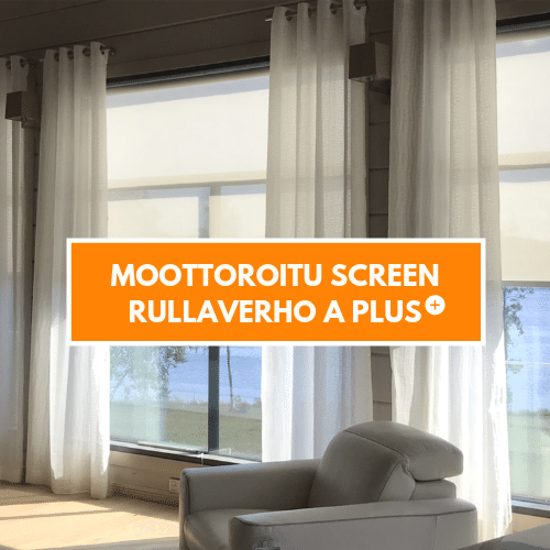 Moottoroitu Screen rullaverho A Plus