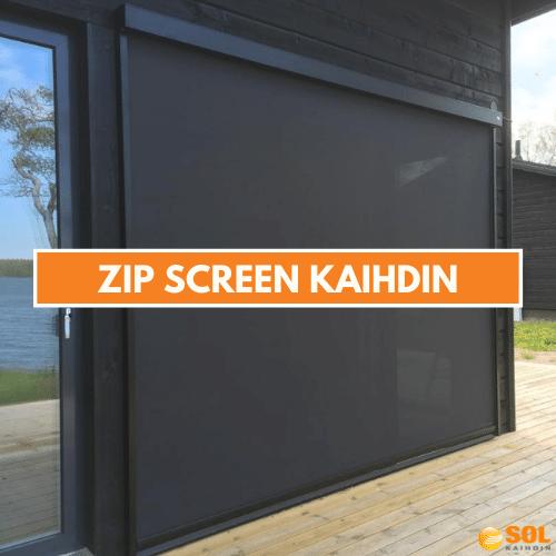SOL Zip Screen kaihdin