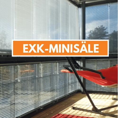 exk-minisäle parvekkeelle